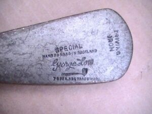 Rare Tom Stewart George Low Baltusrol NJ SPECIAL Driving Iron Wood Shaft  Fore U