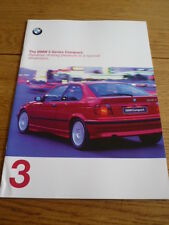 BMW 3 SERIES COMPACT BROCHURE 1997/98 jm