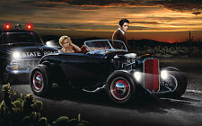 Joy Ride  by Helen Flint Poster Print 36x24 (image 32x20)