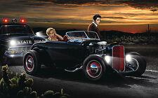 Joy Ride  by Helen Flint Poster Print 36x24 (image 32x20)