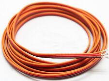 33 Feet  22Awg Orange Red Brown Servo Extension Cable Servo Wire for  RC Product