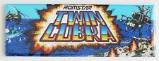 Twin Cobra Marquee FRIDGE MAGNET (1.5 x 4.5 inches) arcade video game helicopter