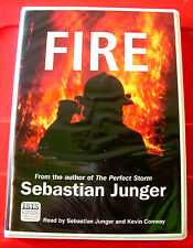 Sebastian Junger Reads Fire 6-Tape UNABR.Audio Kevin Conway Afghanistan/Kosovo+