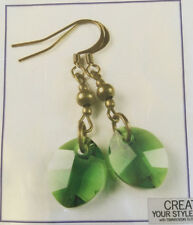 Jilly Bead Autumn Glory:Fern Green Earring Jewelry Making Kit
