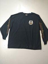 Harley Davidson Motorcycles Long Sleeve T-shirt USA Made 105 Years 2008 Size 3XL