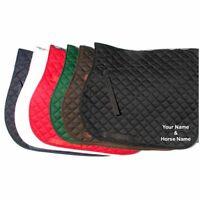 Personalised Saddle Cloth - Add any name, horse name, logo or slogan