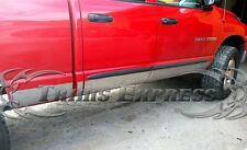"2002-2008 Dodge Ram Quad Cab Short Bed Rocker Panel Trim-12Pc 7"" wide"