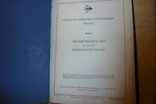 DUNLOP AIRCRAFT PARTS OPERATION MAINTENANCE MANUAL pressure compressors+ 1967/68