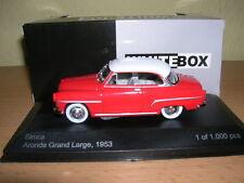 Whitebox Simca Aronda Grand Larga Año fabricación 1953 rojo rojo,1:43 Lim.