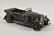 g63b70- Altes (?) mechanisches Blechspielzeug Modellauto, Oldtimer