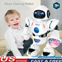 Toys For Boys Robot Kids Toddler Robot Dancing Musical Toy Birthday Xmas Gift HH