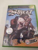 NFL Street 1 Original Microsoft Xbox Football Video Game Tested