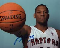 "JOEY GRAHAM signed Autographed ""TORONTO RAPTORS"" 8X10 PHOTO - COA"