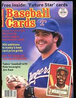 Baseball Cards Magazine September 1987 Jackie Robinson w/Mint Cards jhscd3