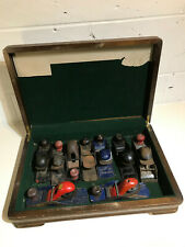 Vintage Block Planes Joblot - Stanley Record other makers in wooden case x 9