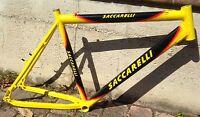 "Telaio Bici alluminio Saccarelli Mountain Bike aluminium Frame 26"" MTB italy"