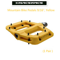 "Race Face Chester Platform Mountain Bike Pedals 9/16"",Yellow"
