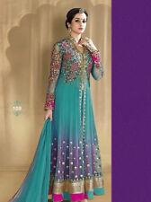Indian Pakistani Anarkali Suit Bollywood Eid 2017 Designer Salwar Kameez Be