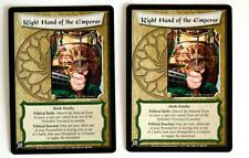 of the Five Rings Ccg Diamond Edition Right Hand of the Emperor (2) L5R Legend
