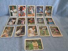 1980'S PROFESSIONAL TENNIS PLAYERS Calendars Card Set (16); McEnroe, Lendl, Graf
