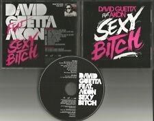 DAVID GUETTA w/ AKON Sexy B 11 TRX REMIXES & INSTRUMENTAL PROMO CD Single