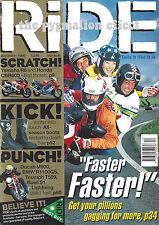 Honda CBR600 Buell S1 Lightning Triumph T509 Ducati Monster M900 BMW R1100GS R6