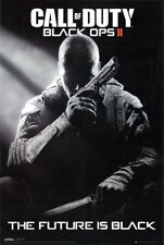 Call of Duty Black Ops 2 The Future Is Black Video Game 24x36 Poster Print