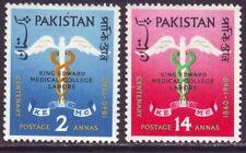 Pakistan 1960 SC 118-119 MH Set Medical College Centenary