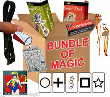 AMAZING BUNDLE OF MAGIC TRICKS FOR AGES 8 TO ADULT