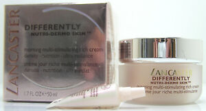 Lancaster Differently Morning Multi-Stimulating rich Cream 50ml Nutri Dermo Skin