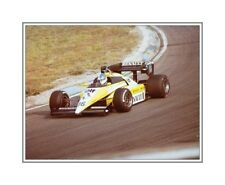 Card Renault RE50 1984 #16 Derek Warwick GP F1 Zandvoort (NL)