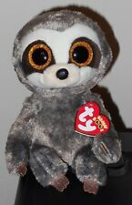 "Ty Beanie Boos - DANGLER the 6"" Sloth ~ 2018 NEW with MINT TAGS ~ IN HAND"