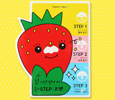 [Tony Moly] Runaway Strawberry Seeds 3 Step Nose Pack