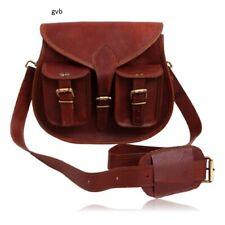 Bag Shoulder Handbag Messenger Women Tote Sturdy Leather Purse Satchel Crossbody