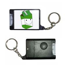 Apple Juice Carton - Black Torch Key Ring