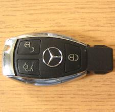 CARCASA DE LLAVE MANDO 3 BOTONES Mercedes C E S Class ML CLK
