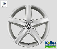 Original Volkswagen Alufelge 17 Zoll Aspen Passat B6 B7 Eos CC Scirocco