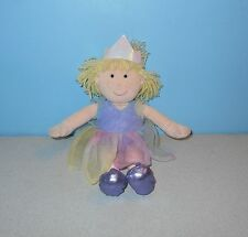 """11"""" Animal Alley Stuffed Plush Fairy Princess Rag Doll Ragdoll w/ Magical Sound"""