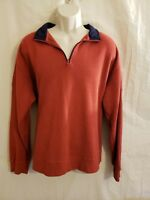 ORVIS MENS SIGNATURE COLLECTION PULLOVER LONG SLEEVE SWEATER SHIRT SIZE XL