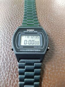 Casio Digital Watch Retro Collection Black B640WB-1AEF RRP £60