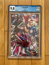 DC Comics Harley Quinn # 58 CGC 9.8 Variant Cover