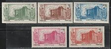 1939 French colony stamps, Reunion, revolution full set MH, SC B5-9