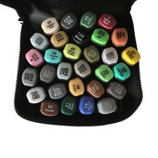 30 Colors Set Artist Dual Head Sketch Copic Markers Set For School Drawing Art