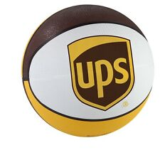 United Parcel Service Ups Official Brown Gold White Custom Rubber Basketball