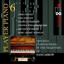 Player Piano 6: Nancarrow Studies for Player, New Music