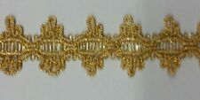 Metallic gold  braid ,sold by 15 yards ,br-133