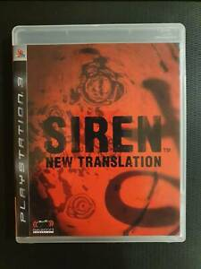 (English Version) PS3 Siren New Translation USED