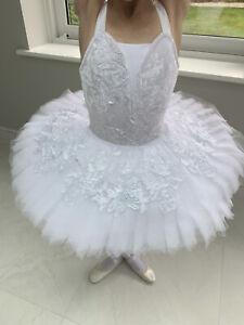 White Classical Ballet Pancake Tutu - One London Child