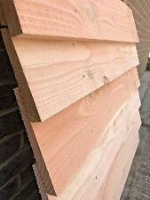 douglas fir rough sawn  feather edge cladding board 175 mm width  3000mm lenght