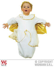 Baby Angel Bonnet And Bib Christmas Nativity Fancy Dress Costume